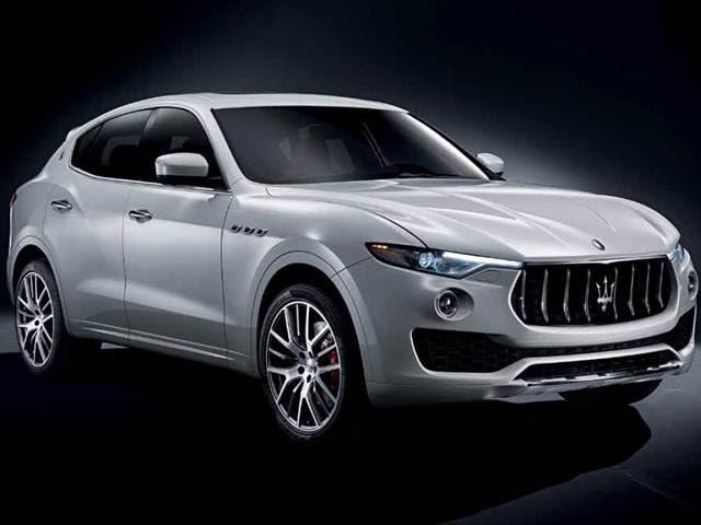 Top Consumer Rated Suvs Of 2017 Maserati Levante