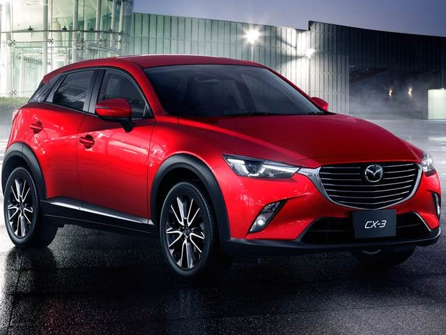 Most Fuel Efficient Crossovers of 2017 - 2017 MAZDA CX-3