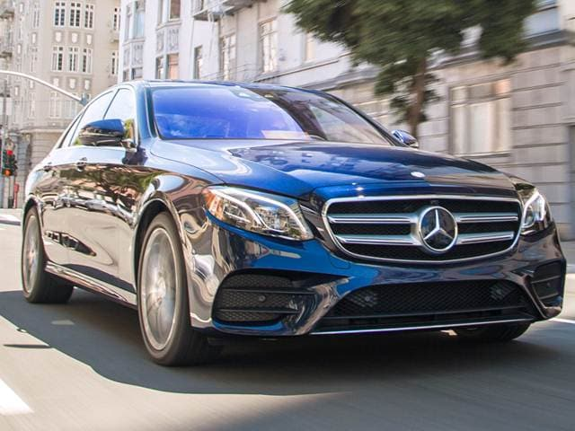 Best Safety Rated Luxury Vehicles of 2017 - 2017 Mercedes-Benz E-Class