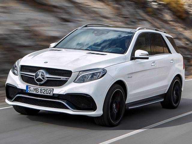 Highest Horsepower Crossovers of 2017 - 2017 Mercedes-Benz Mercedes-AMG GLE