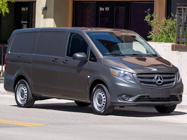 Most Fuel Efficient Van/Minivans of 2017 - 2017 Mercedes-Benz Metris Cargo