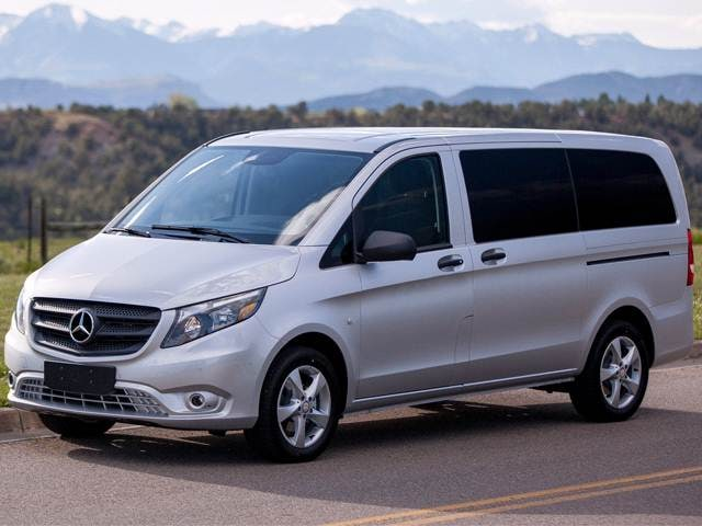 Most Fuel Efficient Van/Minivans of 2017 - 2017 Mercedes-Benz Metris Passenger
