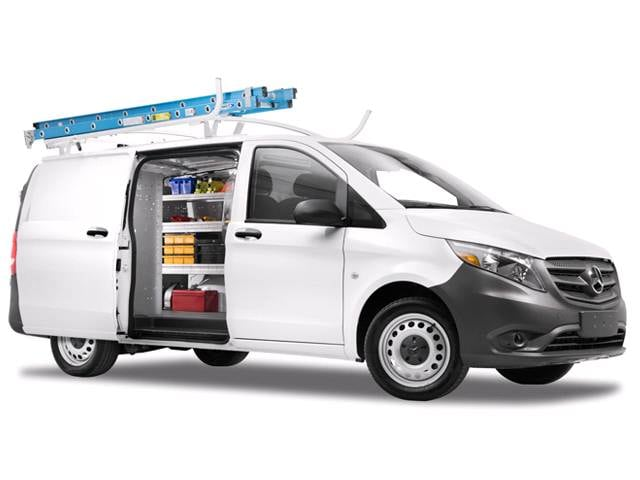 Most Fuel Efficient Van/Minivans of 2017 - 2017 Mercedes-Benz Metris WORKER Cargo