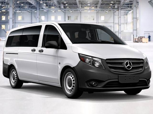 Most Fuel Efficient Van/Minivans of 2017 - 2017 Mercedes-Benz Metris WORKER Passenger