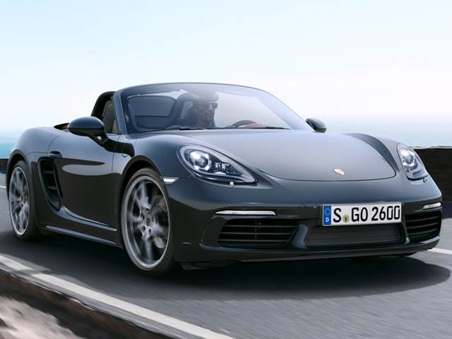 Top Consumer Rated Luxury Vehicles Of 2017 Porsche 718 Boxster