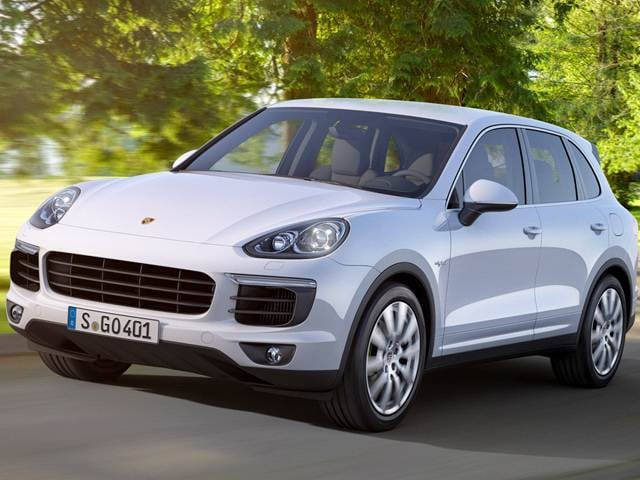 Most Popular Electric Cars of 2017 - 2017 Porsche Cayenne