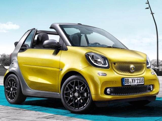 Most Fuel Efficient Convertibles of 2017 - 2017 smart fortwo cabrio