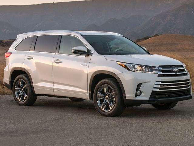 Best Safety Rated Crossovers of 2017 - 2017 Toyota Highlander Hybrid
