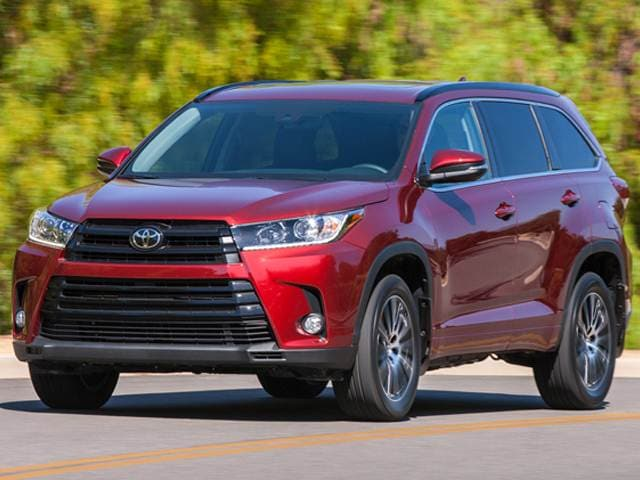 Best Safety Rated Crossovers Of 2017 Toyota Highlander