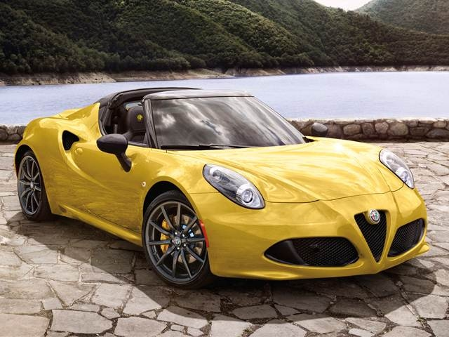 Most Fuel Efficient Convertibles of 2018 - 2018 Alfa Romeo 4C Spider