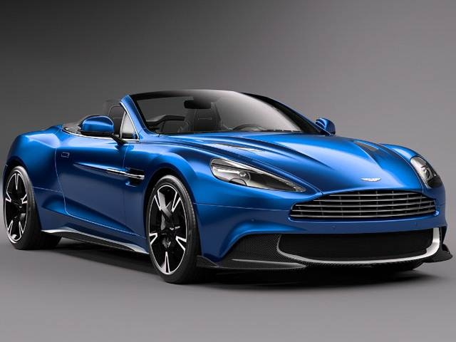 Highest Horsepower Convertibles of 2018 - 2018 Aston Martin Vanquish S