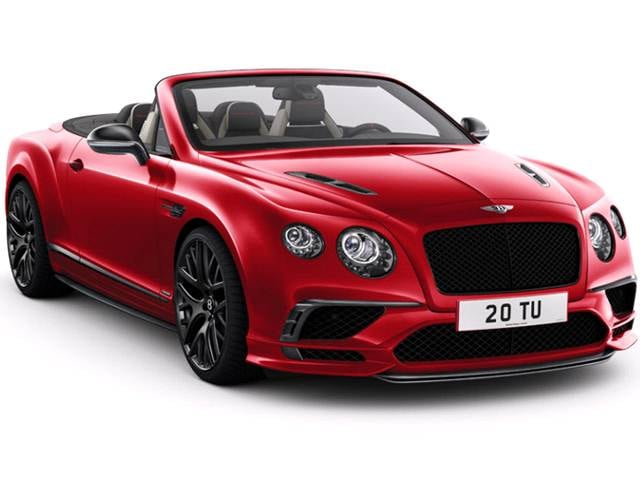 Highest Horsepower Convertibles of 2018 - 2018 Bentley Continental