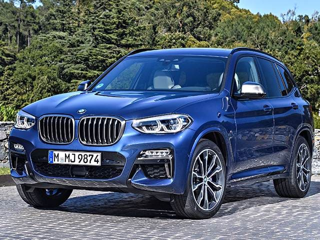 Top Consumer Rated SUVS of 2018 - 2018 BMW X3