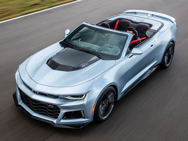 Highest Horsepower Convertibles of 2018 - 2018 Chevrolet Camaro