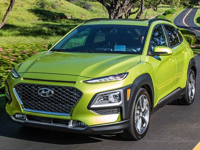 Most Fuel Efficient Crossovers Of 2018 Hyundai Kona