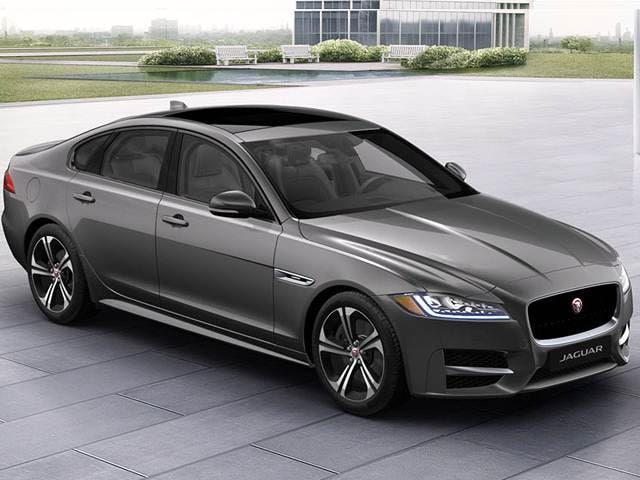 Most Fuel Efficient Luxury Vehicles of 2018 - 2018 Jaguar XF