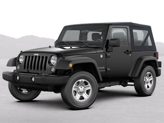 25 Best-Selling SUVs of 2018 - Jeep Wrangler