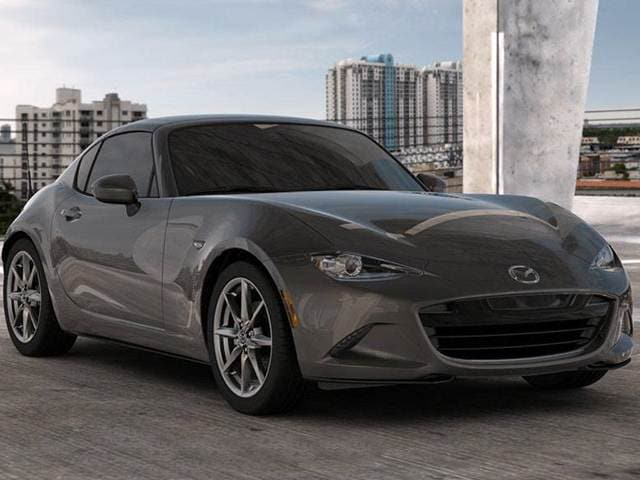 Most Fuel Efficient Convertibles of 2018 - 2018 Mazda MX-5 Miata RF