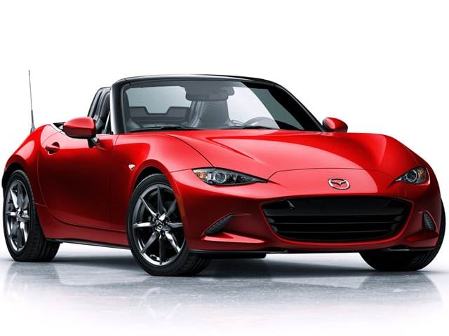Most Fuel Efficient Convertibles of 2018 - 2018 Mazda MX-5 Miata