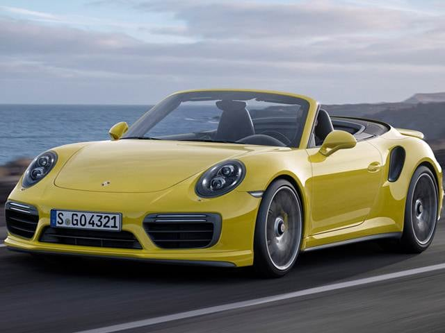 Highest Horsepower Convertibles of 2018 - 2018 Porsche 911