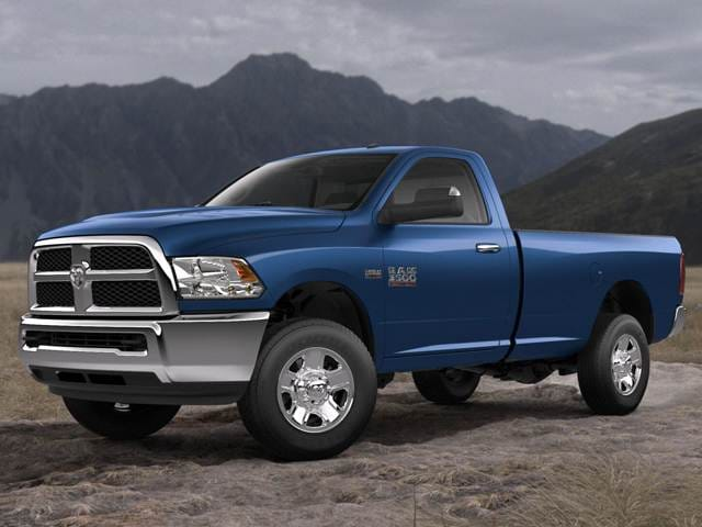 Top Consumer Rated Trucks of 2018 - 2018 Ram 3500 Regular Cab
