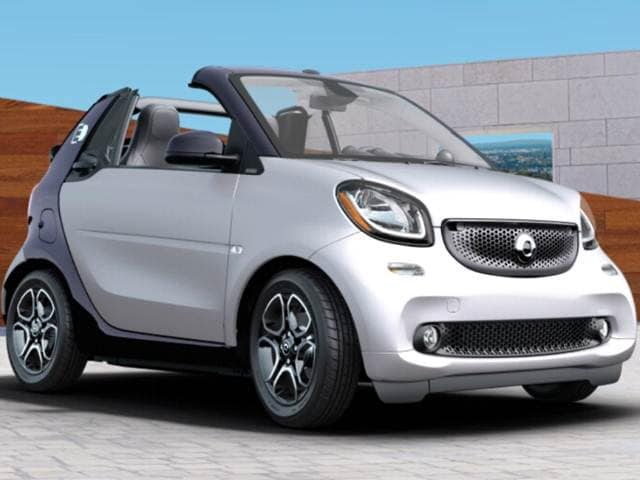 Most Fuel Efficient Convertibles of 2018 - 2018 smart fortwo electric drive cabrio
