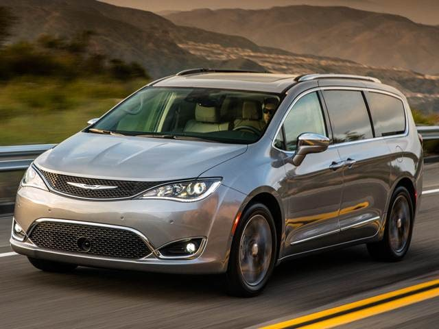 Most Fuel Efficient Van Minivans Of 2019 Chrysler Pacifica