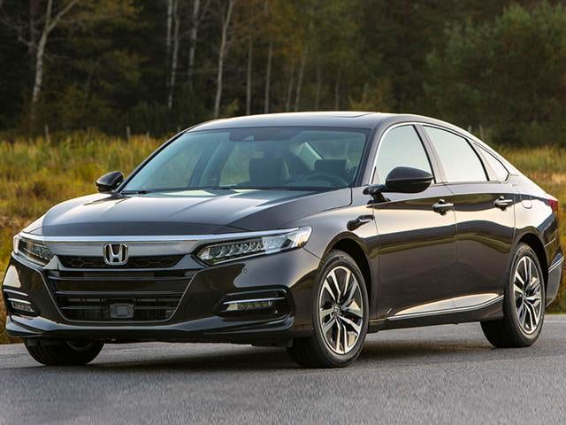 Most Fuel Efficient Hybrids Of 2019 Honda Accord Hybrid