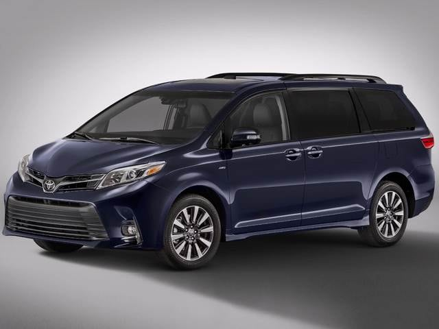 Most Fuel Efficient Van Minivans Of 2019 Toyota Sienna