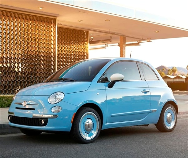 2014 fiat 500 1957 edition revealed kelley blue book. Black Bedroom Furniture Sets. Home Design Ideas