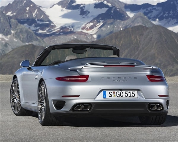 2014 Porsche 911 Turboturbo S Cabriolets Unveiled Kelley Blue Book
