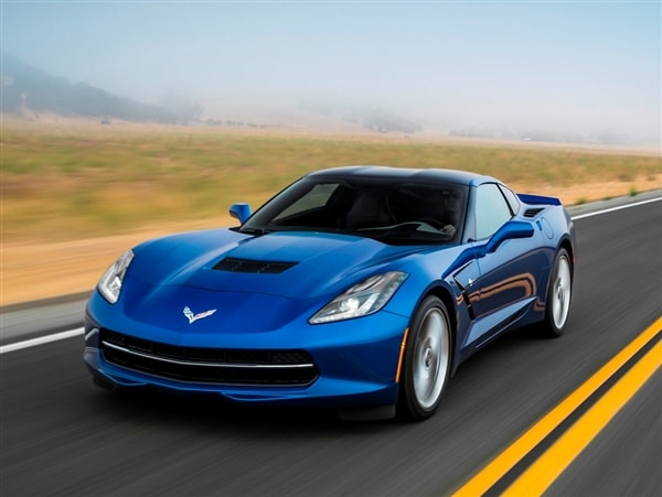 2015 Chevrolet Corvette Stingray To Offer New 8 Speed