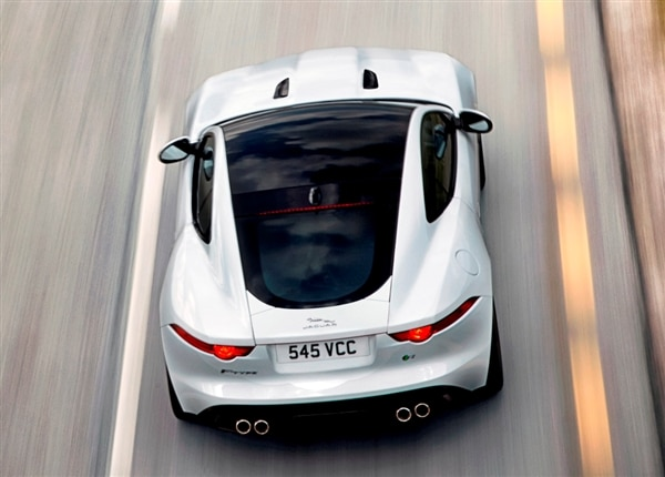 2015 Jaguar F-Type Coupe unveiled - Kelley Blue Book