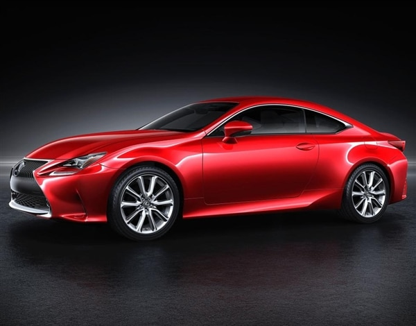 The Wraps Officially Came Off Of The New 2015 Lexus RC Coupe In Tokyo And  At First Blush, This Striking Addition To The Family Clearly Lives Up To  Its ...