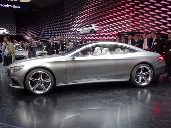 4. Mercedes-Benz Concept S-Class Coupe