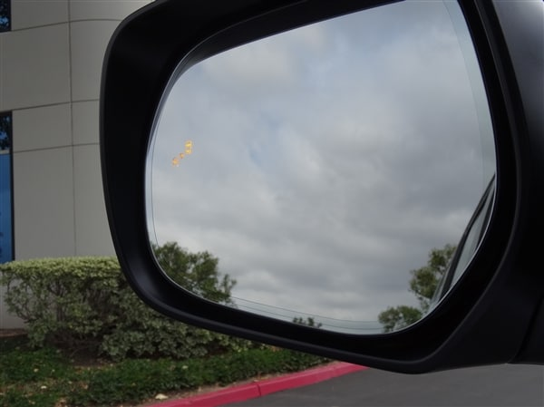 7. Blind Spot Monitoring and Cross Traffic Alert