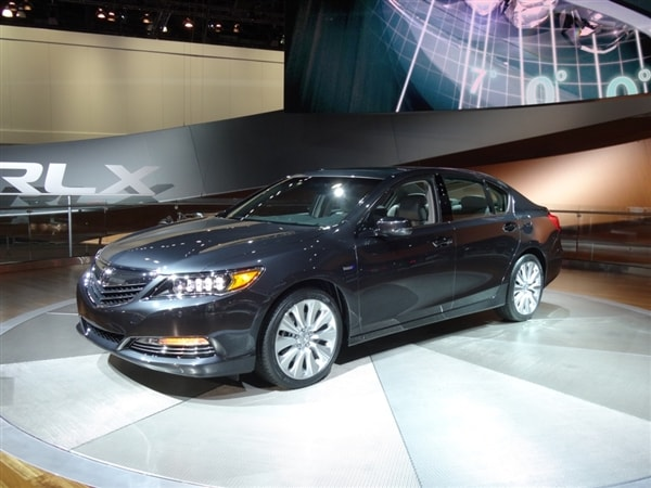 2014 Acura Rlx Sport Hybrid Sh Awd Revealed Kelley Blue Book