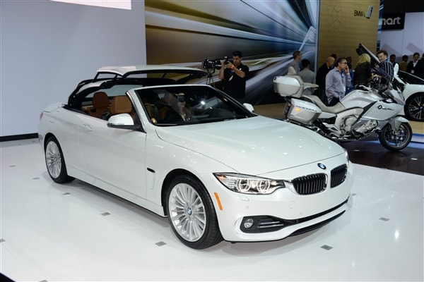 2014 BMW 4 Series Convertible unveiled and priced 4