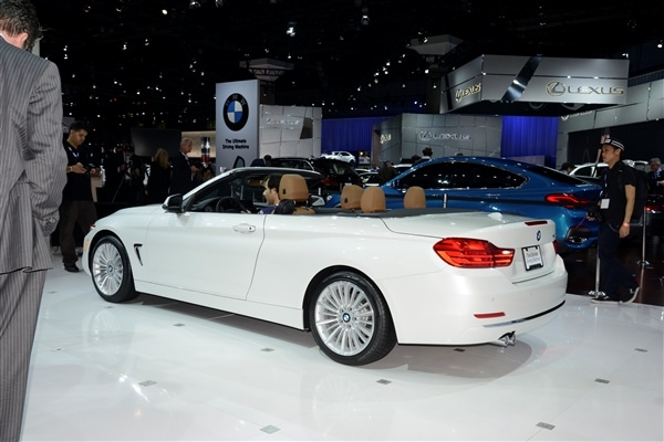 2014 BMW 4 Series Convertible unveiled and priced 17
