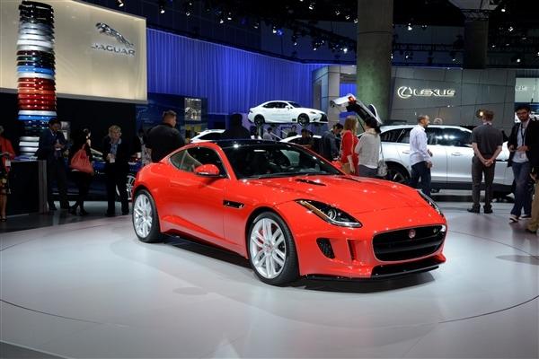 2015 Jaguar F-Type Coupe unveiled 3