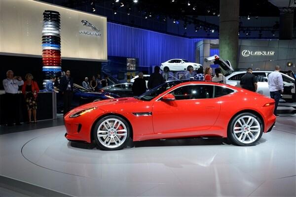 2015 Jaguar F-Type Coupe unveiled 5