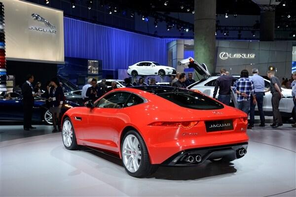 2015 Jaguar F-Type Coupe unveiled 8