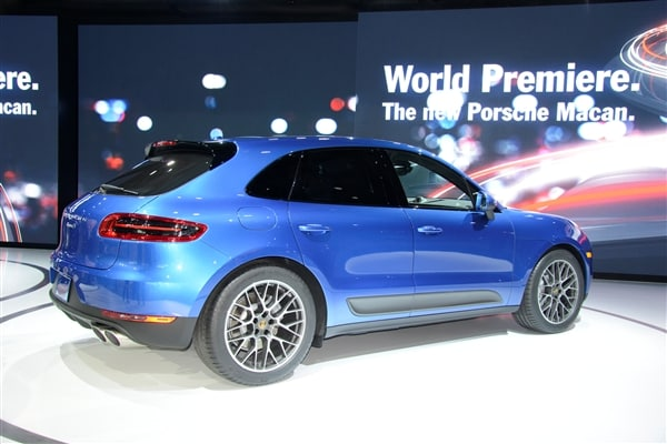 2015 Porsche Macan unveiled at the 2013 Los Angeles Auto Show 6