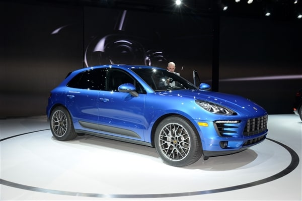 2015 Porsche Macan unveiled at the 2013 Los Angeles Auto Show 4