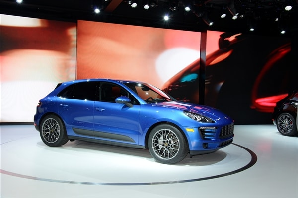 2015 Porsche Macan unveiled at the 2013 Los Angeles Auto Show 2