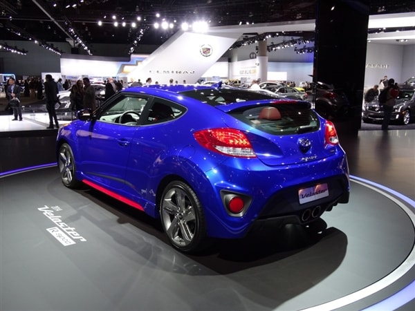 2014 Hyundai Veloster Turbo R Spec Offbeat 3 Door Strips