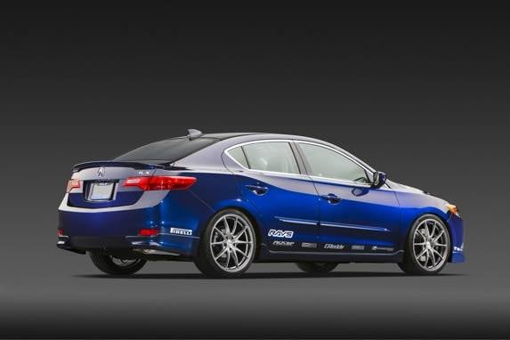 2013 Acura ILX 'Street Build' Concept Unveiled At SEMA