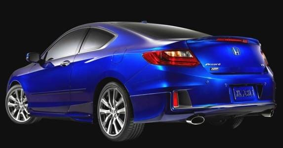 2013 Honda Accord Coupe HFP Package introduced at SEMA - Kelley Blue Book