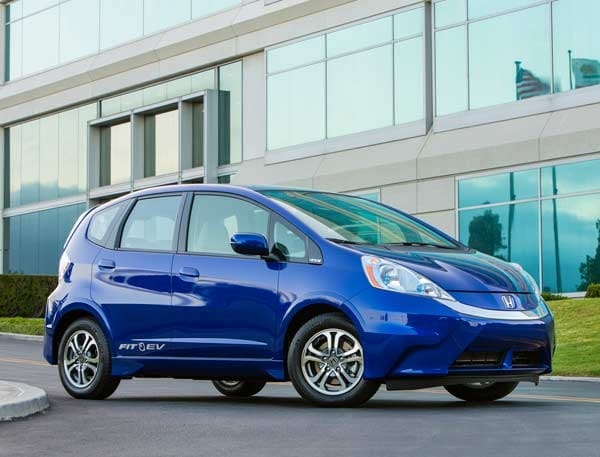 2017 Honda Fit Ev First Review