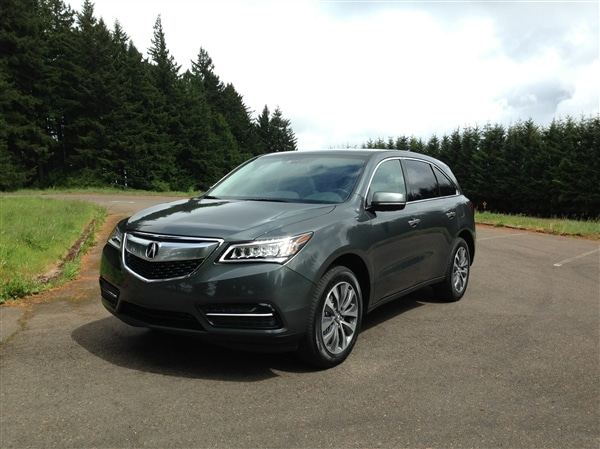 Acura MDX First Review An Enduring Benchmark Kelley Blue Book - Acura mdx review 2014